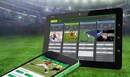 Applications mobiles paris sportifs