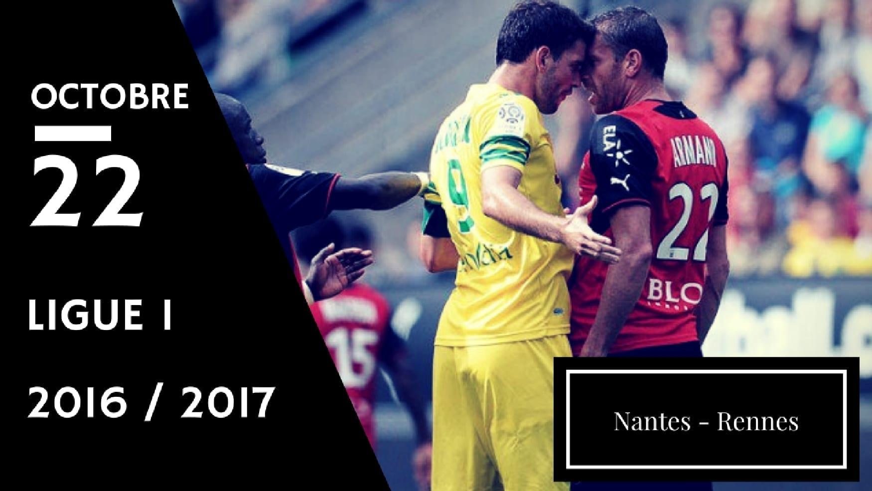 Pronostic FC Nantes - Stade Rennais FC