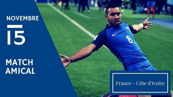 Pronostic France vs Cote d'Ivoire