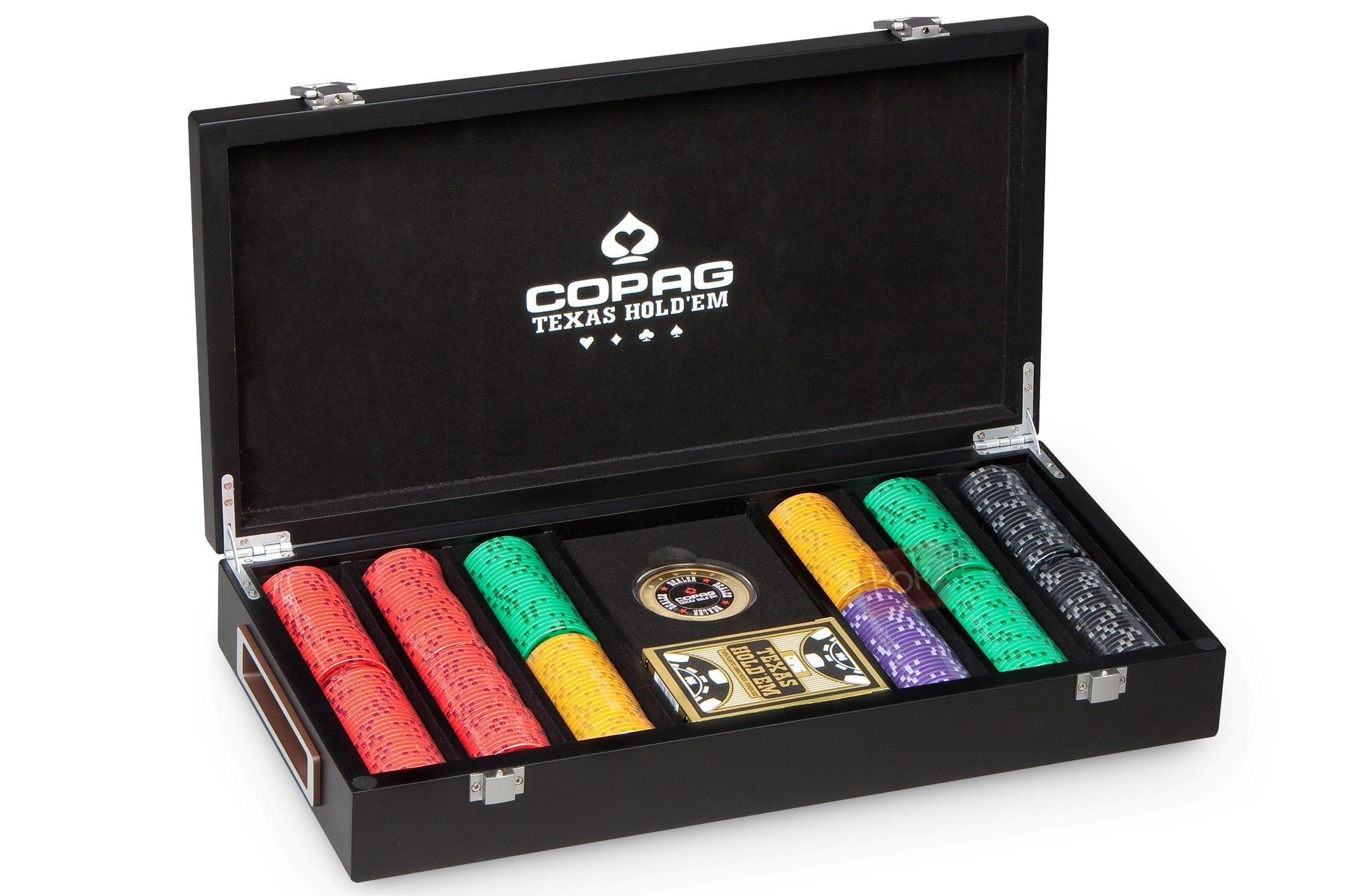 Coffret Copag 300 jetons de Poker
