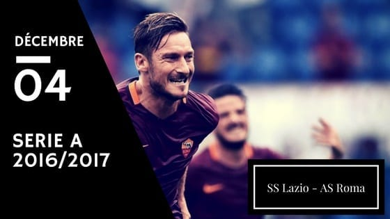 Pronostic Serie A : Lazio Rome - AS Roma