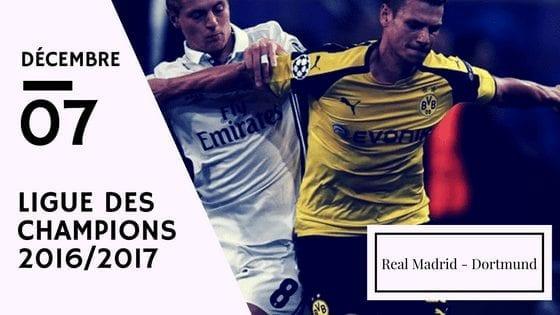 Pronostic Ligue des Champions: Real Madrid - Borussia Dortmund