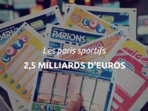 FDJ chiffres paris sportifs