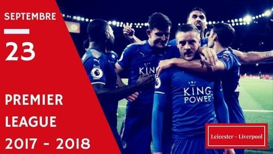 Leicester après un but