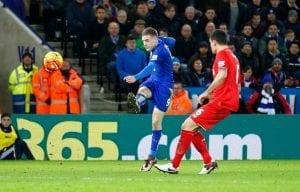 Jamie Vardy vs Liverpool