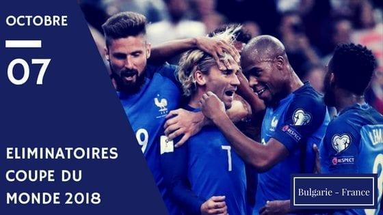 pronostic Bulgarie France cdm 2018