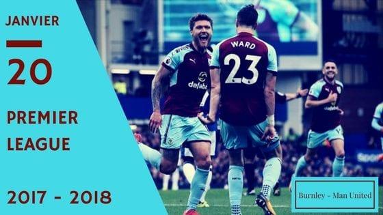 pronos de premier league burnley - man united 2017 2018