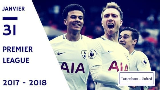 pronos Tottenham united premier league