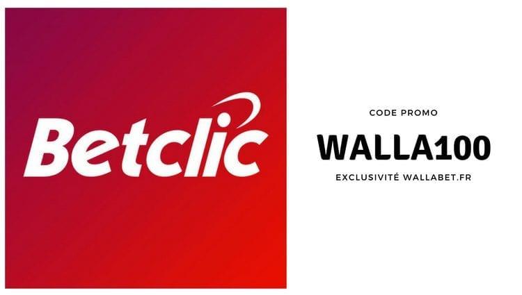 Code promo Betclic > WALLA100