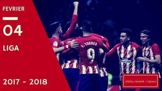 Pronostic Atletico Madrid - Valence