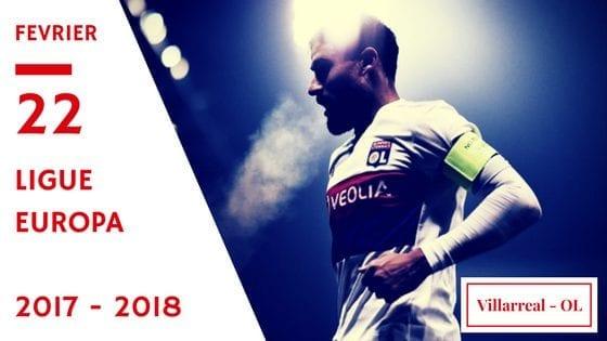 europa ligue Villarreal olympique lyonnais 2017/2018