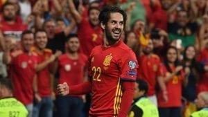 Isco en sélection espagnole 2018