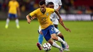 Coutinho sous le maillot brésilien