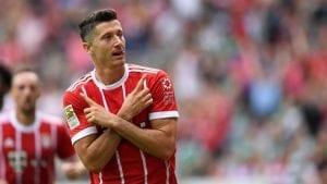 L'attaquant du Bayern, Robert Lewandowski
