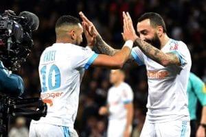 La joie de Mitroglou après son but contre le Toulouse