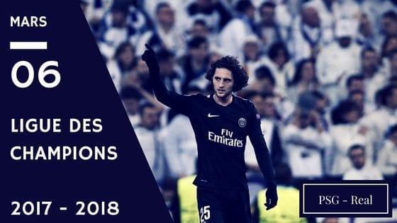 pronostic psg real ligue des champions 2017 2018