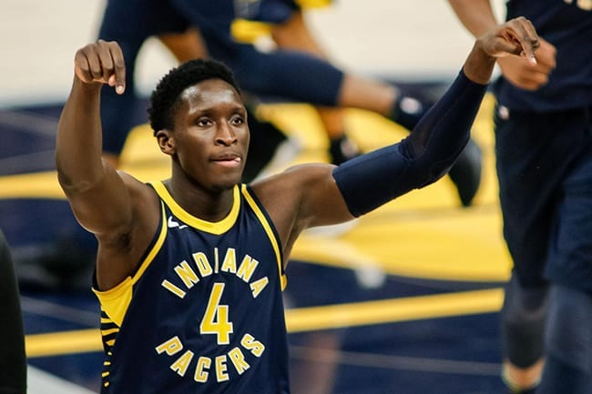 Victor Oladipo Indiana Pacers NBA Playoffs