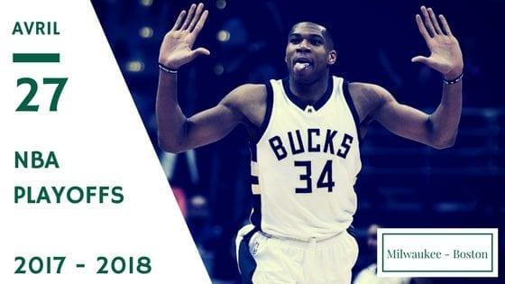 Bucks de Milwaukee Celtics de Boston NBA Playoffs game 6 2017 2018