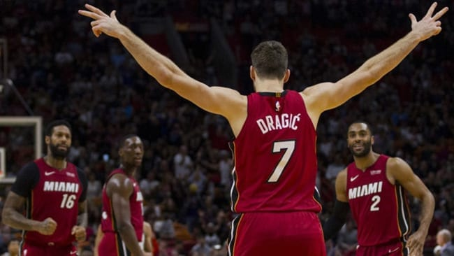 Goran Dragic Miami Heat Playoffs 2018