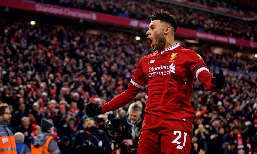Chamberlain avait ouvert le score face à City