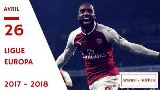 prono arsenal atlético en ligue Europa 2017-2018