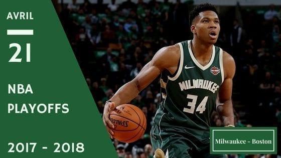 Pronostic NBa entre Milwaukee et Boston Match de Playoff
