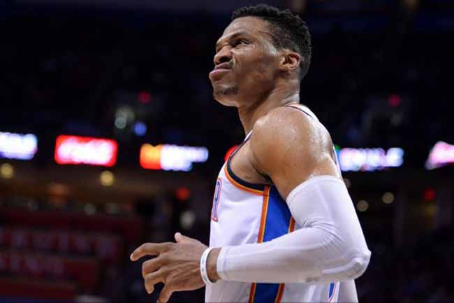 Russell Westbrook Oklahoma City NBA playoffs