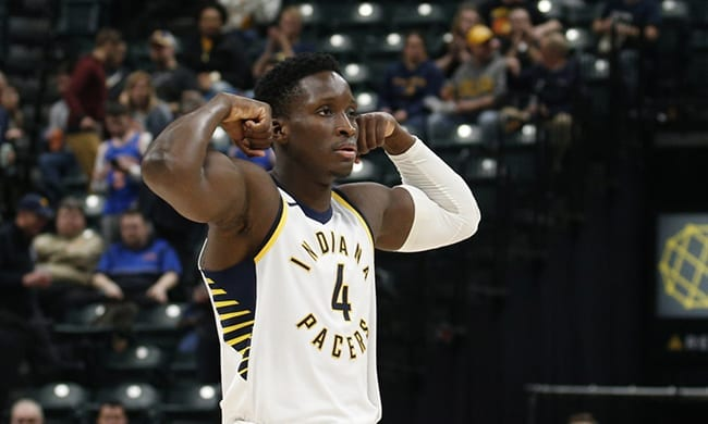 Victor Oladipo Pacers Indiana Playoffs 2018