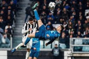 Le but de Ronaldo contre la Juventus en Ligue des Champions 2017-2018