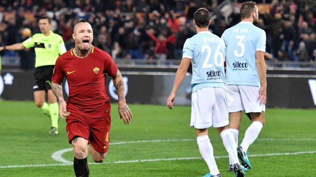 victoire as roma vs lazio