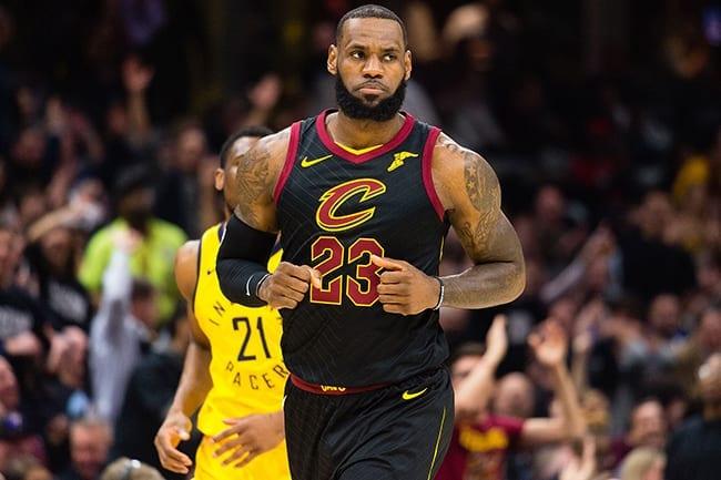 LeBron James Cavaliers Cleveland NBA Playoffs