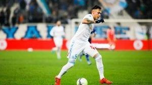 Lucas Ocampos meilleur buteur de Marseille en Ligue Europa 2017-2018