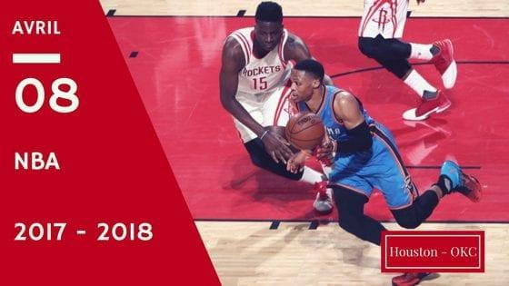 Pronostic Houston Rockets contre Oklahoma City Thunder