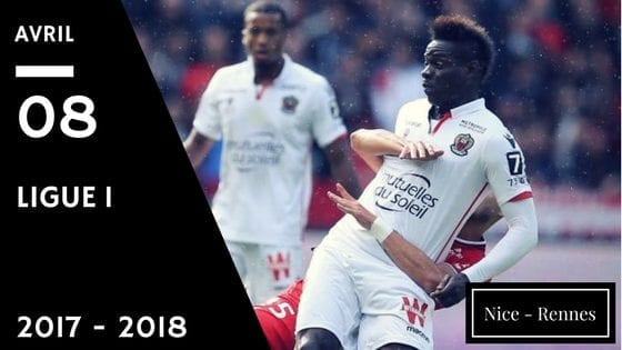 prono nice rennes ligue 1 2017 2018