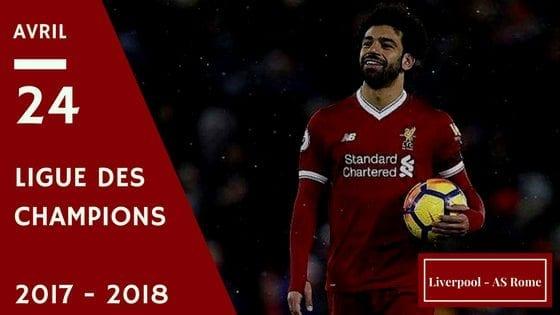 Pronostic Liverpool - AS Rome Ligue des Champions 2017-2018