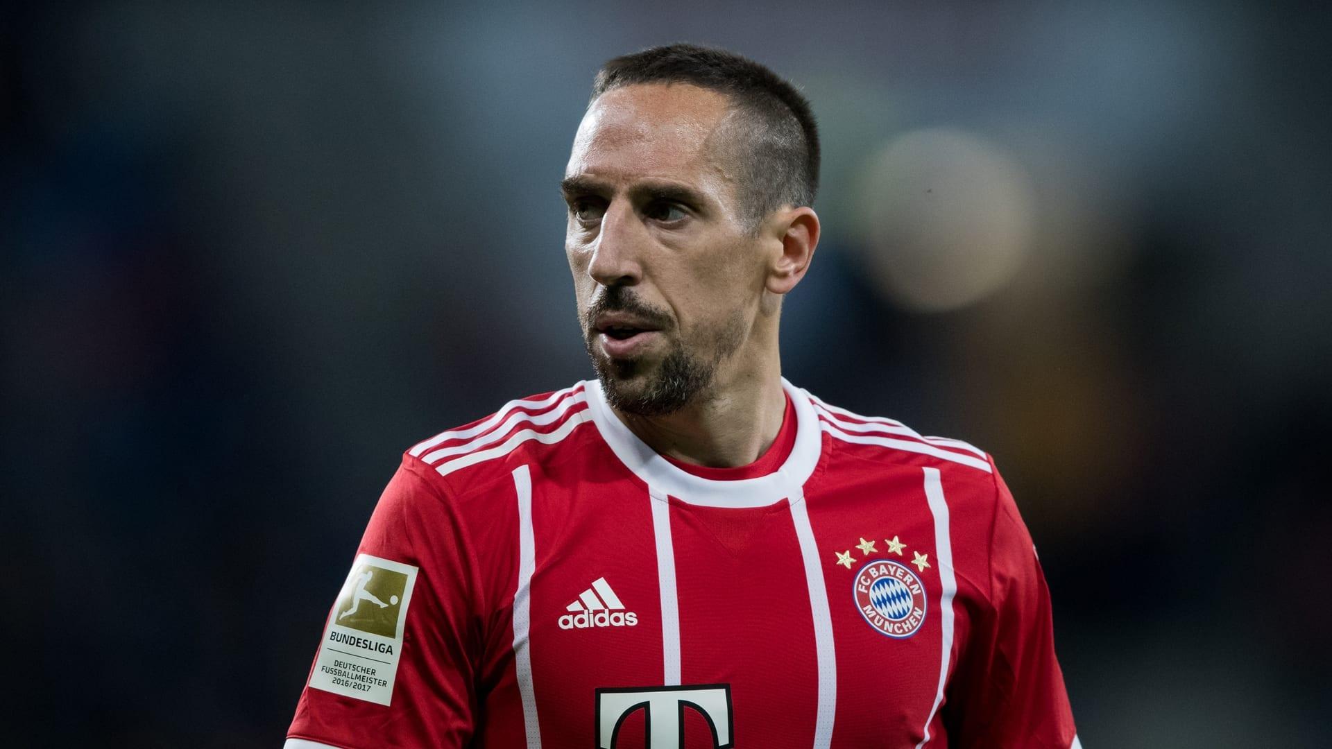 Franck Ribery Bayern 2017 -2018