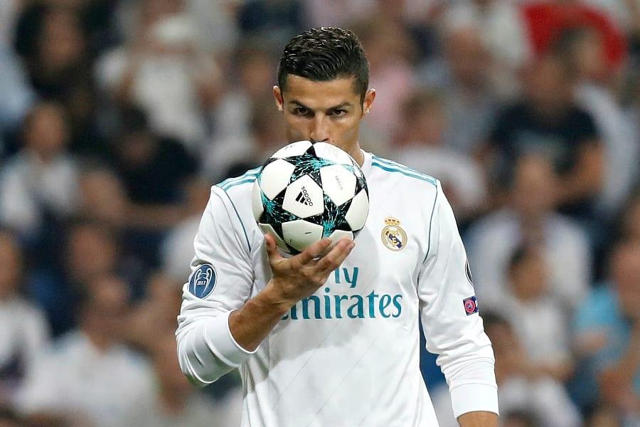 Cristiano Ronaldo Real Madrid en Ligue des Champions 2017 - 2018