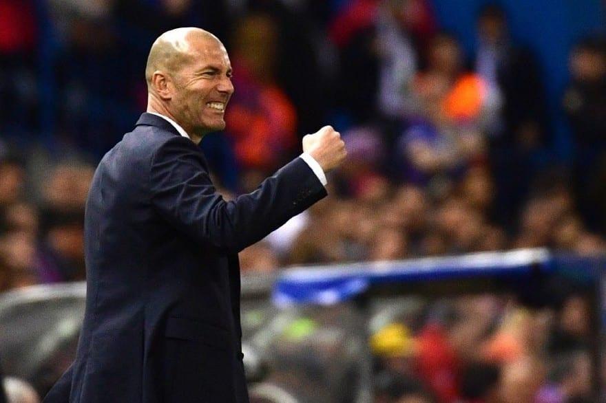 Zidane Real Madrid 2017 - 2018