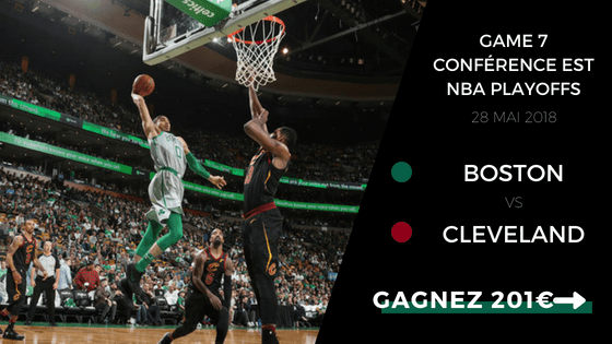 Boston Celtics Cavaliers Cleveland NBA Playoffs 2017 2018 game 7
