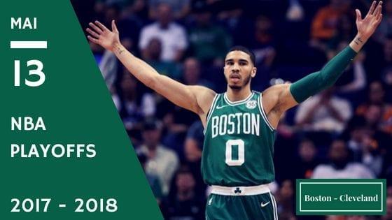 Celtics de Boston Cavaliers de Cleveland NBA Playoffs game 1 2017 2018