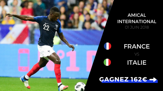 Pronostic France Italie