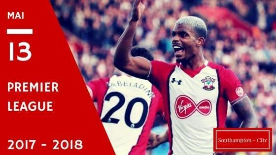 promo Southampton vs Manchester City en Premier League 2017-2018