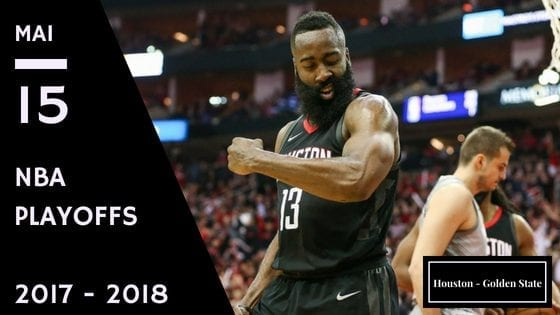 Pronostic du match 1 entre Houston et Golden State en playoff NBA