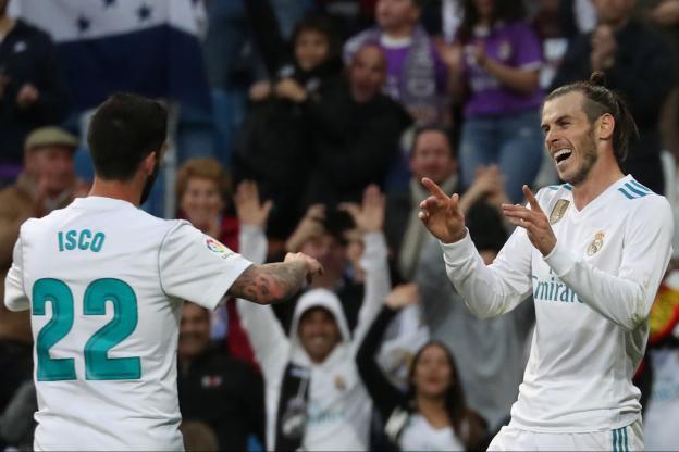 Bale et Isco face au Celta Vigo Liga 2017 - 2018
