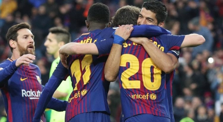 FC Barcelone Liga 2017 - 2018