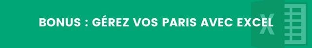 Gestion Paris Sportifs Excel