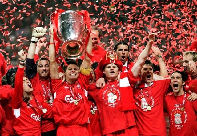liverpool victoire ligue des champions 2005