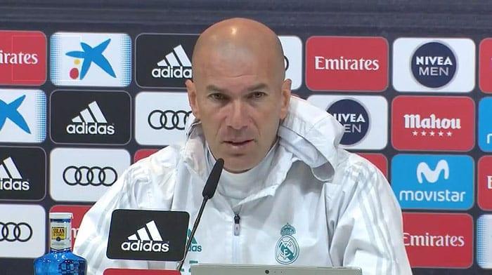 Zidane conférence de presse 2017 - 2018