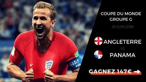 prono Angleterre panama CDM2018