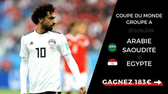 Pronostic Arabie Saoudite Egypte